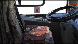 В центре Волгограда водители автобусов устроили потасовку