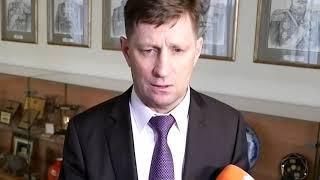 Губернатор Хабаровского края Сергей  Фургал о ситуации с хлебом в регионе. 14 ноября 2018