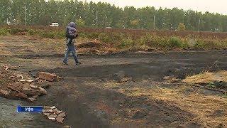 Около полусотни домов под Уфой оказались в плену непроходимой грязи