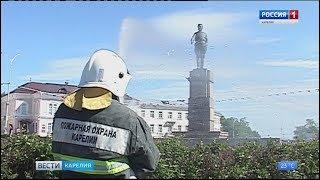 Пожарные Кемского района получили сегодня новую машину