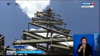 На Ставрополье бойцы-связисты отразили нападение диверсантов