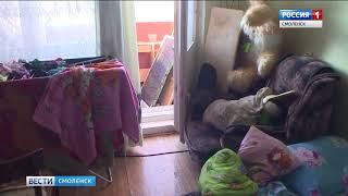 Смоленские полицейские и сотрудники МЧС спасли ребенка