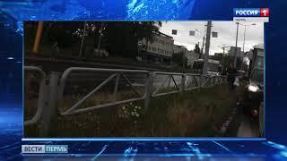 На бульваре Гагарина автобус столкнулся с легковушкой