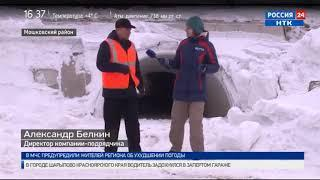 В ожидании большой воды: дорожные службы очищают трассы Новосибирской области от снега