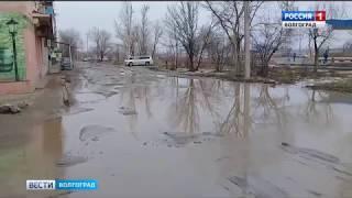 В Красноармейском районе талые воды затапливают подвал жилого дома