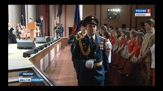 Военнослужащие Абаканского гарнизона торжественно отметили день защитника Отечества. 22.02.2018