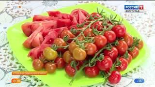 Волгоградские школьники ознакомились с работой агрокомплекса