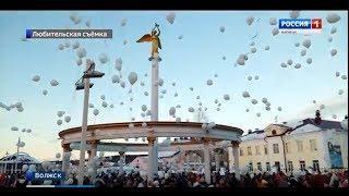 Жители Волжска присоединились к акции в честь памяти погибших в Кемерове - Вести Марий Эл