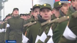 Прошла первая репетиция парада Победы