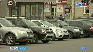 В центре Петрозаводска парковка станет платной