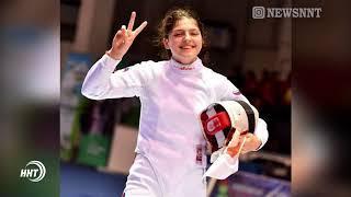 Айзанат Муртазаева выиграла серебро на Кубке мира по фехтованию