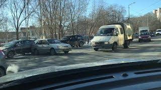 Массовое ДТП на  Российской