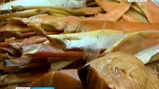 Речные дары от рыбаков Камчатки привезли красноярцам