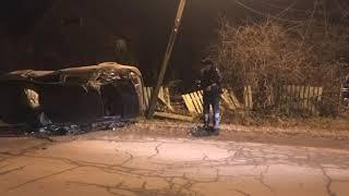 В Ростовском районе полыхала фура