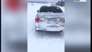 Борьба с последствиями снегопада (ГТРК Вятка)