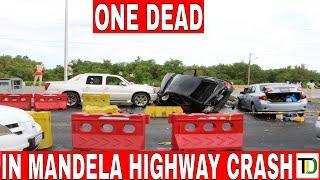 FAT@L Five-Vehicle CRASH on MANDELA Highway - Teach Dem