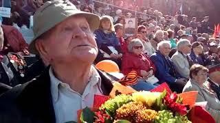Ветераны на параде в Хабаровске-4