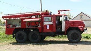 В Иловлинском районе проверили готовность к летнему пожароопасному периоду