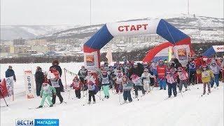 Несколько сотен магаднцев приняли участие в соревнованиях «Лыжня России»