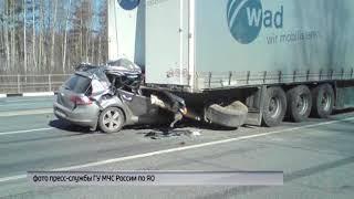Иномарка влетела в грузовик в Ростовском районе: погиб водитель