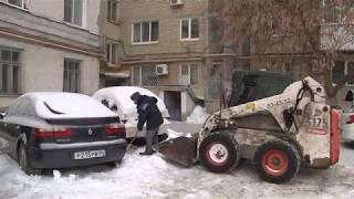 Сотрудники Госжилинспекции проверили уборку дворов от наледи