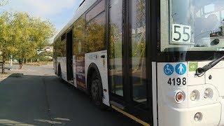 Волгоградцы собирают подписи за возвращение старого маршрута автобуса № 55