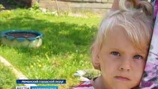В посёлке Бобры Неманского района люди живут в доме без крыши