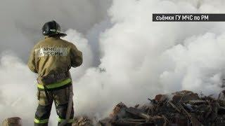 Кому принадлежит тлеющий участок земли, дым с которого так напугал жителей Саранска?