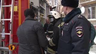 В Волгограде пожарные спасли кота при тушении дома