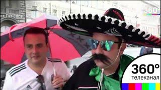 Санкт-Петербург бурлит в ожидании матча Россия - Египет