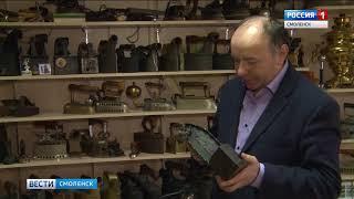 Смолянин собрал коллекцию старинных утюгов