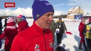 Андрей Парфенов - Чемпионат России по лыжным гонкам 2018 года