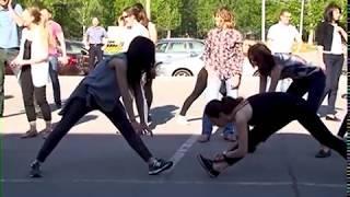 Флешмоб накануне благотворительного марафона прошел в Тольятти