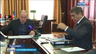 Рашид Темрезов в Карачаевске провел совещание посвященное благоустройству  города и района