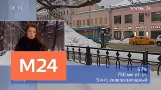"""Утро"": погода на ближайшие дни - Москва 24"