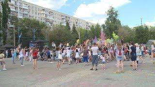 В Волгоградской области прошел фестиваль красок