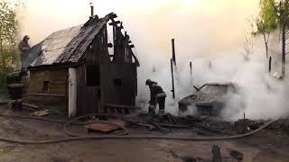 Пожар на 2 ом Рейдовом переулке