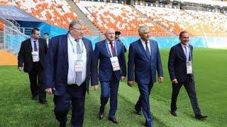 Саранск посетил Министр внутренних дел России