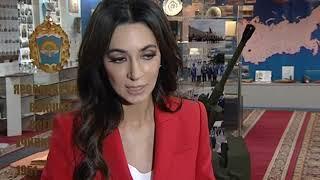 Певица Зара спела для курсантов и преподавателей Ярославского высшего военного училища