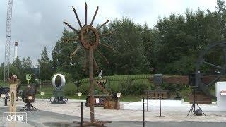 В Полевском открылась выставка скульптур из металлолома