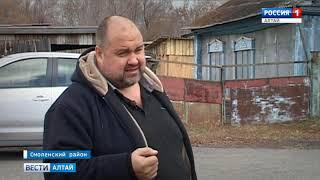 Жители алтайского села 20 лет не могут добиться сноса аварийного тополя