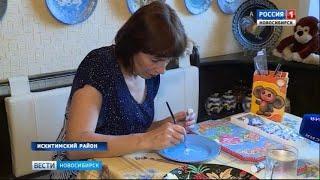 Фельдшер из района Новосибирской области участвует в творческом конкурсе