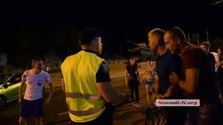 Видео Новости-N: конфликт на месте ДТП на улице 6-й Слободской