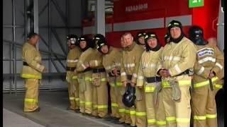 Пожарным из Еманжелинска подарили новую технику и обещали поднять зарплату