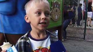 На Козлова в Симферополе открыли первую за 20 лет детскую площадку