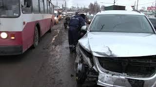 30 11 18 Двое детей пострадали в ДТП в Ижевске