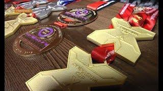 12 медалей из 17 возможных. 8 золотых и 4 серебряных.