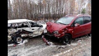 ЖЕСТКИЕ АВАРИИ 2018 / Первый снег/ торопыги и водятлы /видеорегистратор дтп 2018 /