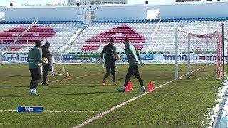 ФК «Уфа» готовится к матчу с «Зенитом»