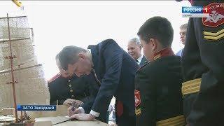 День защитника Отечества отпраздновали в Пермском Суворовском училище
